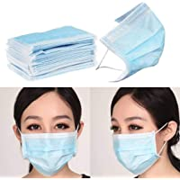 Efinito 3 Ply Facemask for Pollution (100 Pcs,Unisex)