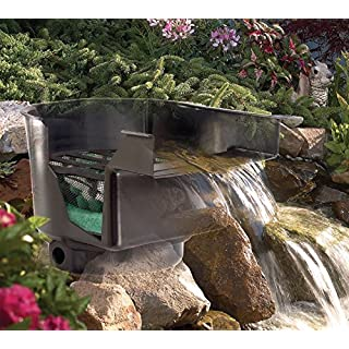AQUARISTIKWELT24 Pond Waterfall Stream 43 CM Wide incl. Filter system Pond Filter