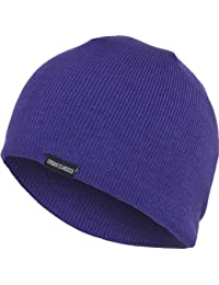 "Urban : ""Basic Beanie"" Size: one size, Color: purple …TB306"