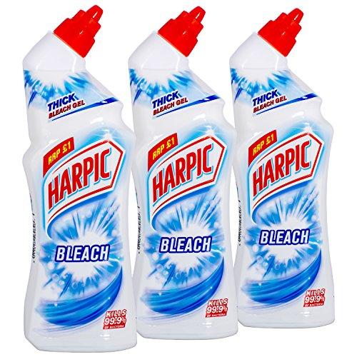 3x HARPIC Bleach WC-Reiniger 750ml (3)