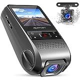 APEMAN Caméra de Voiture Caméra Embarquée 1080P Full HD Grand Angle 170° Polyvalent Dashcam Enregistreur de Conduite avec Caméra G-senseur(Noir)