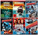DIE GROSSE HAI BOX COLLECTION ( Fan-Paket mit 15 Hai-Film Klassiker incl. Sharknado 1-3 - 3 Headed Shark Attack -...