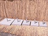 Schirmständer Sonnenschirmständer Granit Schirmfuß Granitständer 40 50 70 100 (40 kg)