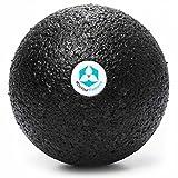 #DoYourFitness® Faszienball groß - Massage-Ball | ideal für Faszientraining (Muskeln & Bindegewebe), Selbstmassage & gegen Verspannungen (BlackCat groß)