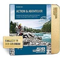 Jochen Schweizer Erlebnisgutschein ACTION & ABENTEUER   730 Erlebnismöglichkeiten   Für 1-6 Personen   inkl. Geschenkbox
