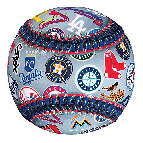 lub Baseball Teeball - Soft Strike - 30 Club Logo Ball (alle Teams) - Soft Core - MLB Offizielles Lizenzprodukt ()