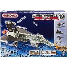Meccano - Set de 10 Modelos de Aviones