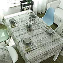 Cabell grano di legno naturale Modello tovaglia, panno morbido Sfondo Fotografia Cotone Lino in Family