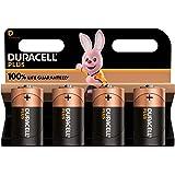 Duracell NEW Plus D Mono alkaline batterijen, 1.5V LR20 MN1300, 4-pack, LR14 MN1400, 4 stuks