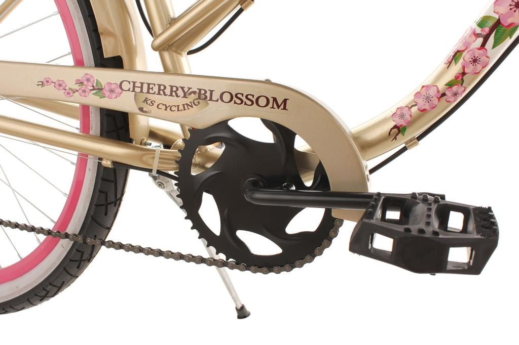 KS Cycling Damen Fahrrad Beachcruiser Cherry-Blossom RH 42 cm ...
