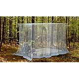 Naturo Home - Mosquitera Exterior - Tamaño Grande, Incluye 2 Pulseras Repelentes De Insectos, Kit De Colgado, Bolsa De Transporte y Ebook Gratuito
