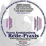 Neues Kompendium der Redepraxis: Das Komplettpaketauf CD für Rhetorik, Gesprächsführung, Verhandlung