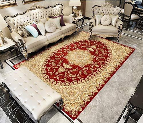 QKa Flächenteppiche, Traditionelle Musterstreifen Dekorative Zeitgenössische Moderne Flächenteppiche 120 cm x 160 cm (4 ft x 5 ft),07 (Traditionelle Teppiche 5x7)