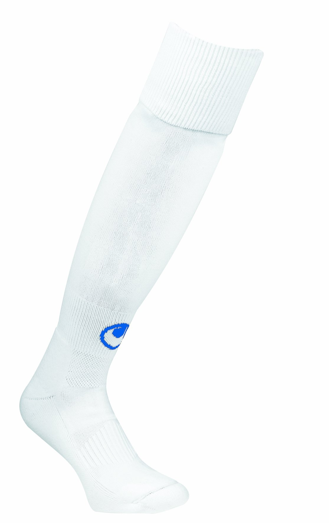 uhlsport - Team Pro Classic, Calze per bambini, Bianco/Blu, 33-36
