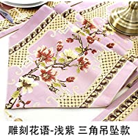 Bandera de Mesa combinación de manteles Tabla de té Bandera de Tela Tela de Moda Mueble