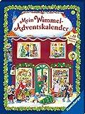 Mein Wimmel-Adventskalender: Mit 24 Pappbilderbüchern -