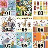 20 Servietten Motiv Auswahl möglich Party animals - Partytiere 33x33cm