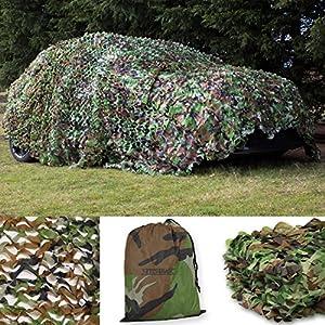 Tarnnetz für die Jagd – Camouflage – Erhältlich in 2 m/3 m/4 m/5 m/7 m/10 m Größe