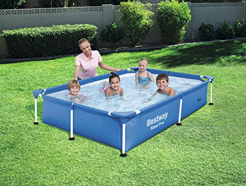 Bestway steel pro frame above ground pool rattan - Bestway steel frame swimming pool ...
