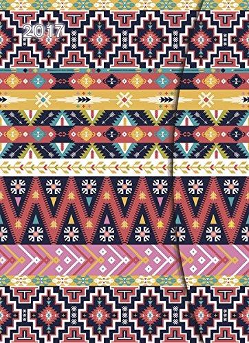 2017 Ethno Diary - teNeues Large Magneto Diary - Illustrations - 16 x 22cm por teNeues