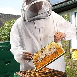 ABEDOE Beekeeping Suit, Beekeeping Veil With Bee Keeping Suit Suitable for Beginner and Commercial Beekeepers (XXL)