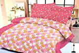 Madhavs Multicolor Cotton Bedsheets with...