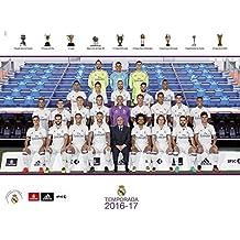 Grupo Erik Editores   Mini Poster Real Madrid 2016/2017 Plantilla