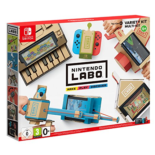 Switch Nintendo Labo - Kit variado