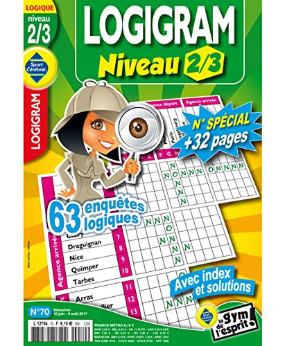 Logigram Niveau 2/3 Niveau 2/3 par sportcerebral