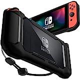 Spigen Rugged Armor Compatibile con Nintendo Switch Custodia - Nero Opaco