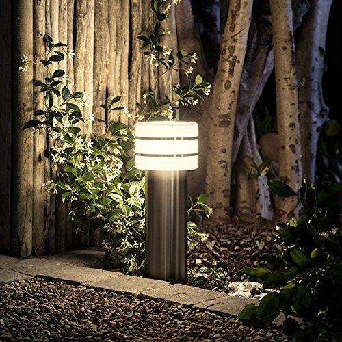 Philips Hue LED Sockelleuchte Tuar Stahl Gebürstet inkl. Hue White   Hue-Wegeleuchte, Gartenleuchte - Stahl Outdoor-lampe