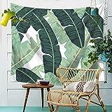 GXYGWJ Tapisserie, Couverture assise Suspension en feuille de palmier Motif...