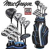 Macgregor DCT2000Herren Golf Set Deluxe Cartbag Paket-Set Eisen mit Stahlschaft