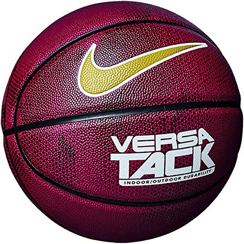 Nike Erwachsene Versa Tack 8P Basketball, red Crush/Black/White, 7 (Nike Outdoor Basketball Ball)