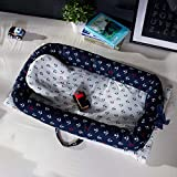 Tragbare Krippe Bett Abnehmbare Baby Isolation Bett Neugeborenen Bionischen Bett, 90 * 50 * 15 cm,3