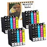 20cartouches d'encre Cartouches d'encre (non original) pour Epson WorkForce WF 2010, 500, 2510, 2520, 2530, 2540, 2630, 2650, 2660, 2660, 2700, 2750, 2760