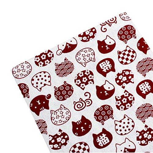East Utopia Japanischen Stil DIY Stoff Tuch Material Schöne Muster (50 * 145 - Mouchoir Kostüm