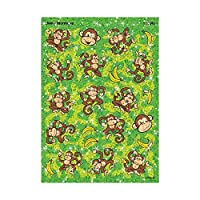 TREND ENTERPRISES INC. T-63343 SPARKLE STICKERS LIVELY MONKEYS