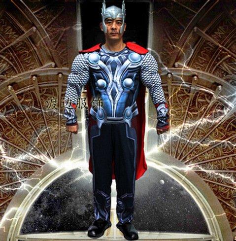 Gorgeous Thor Superman Halloween -Leistungskleidung Animation und Spiel-Liebhaber Modellierung zukünftiger Soldat Kleidung (Halloween-kostüm Weibliche Soldat)