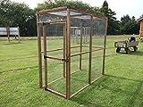 Animal Enclsure 6ft x 3ft Outdoor Garden Run Chicken Bird Rabbit Pet Aviary