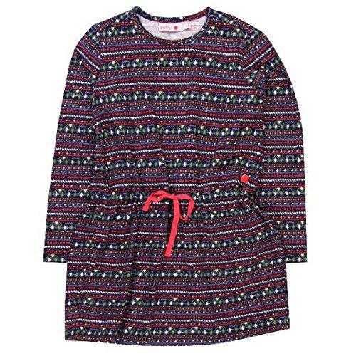 boboli mini/kids Mädchen Strickkleid, Kleid mit Print, Größe:164