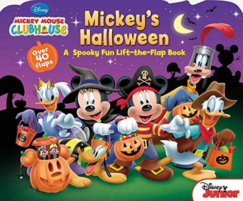 Mickey Mouse Clubhouse Mickey's Halloween por Disney Book Group