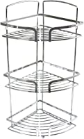 In-house Stainless Steel Corner Shower Rack - Silver