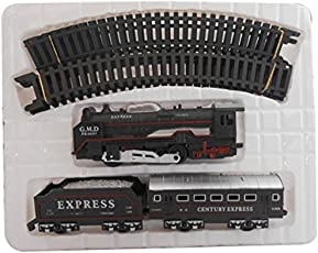 SMT Toys Battery Operated Train Set, Multi Color with Head Light
