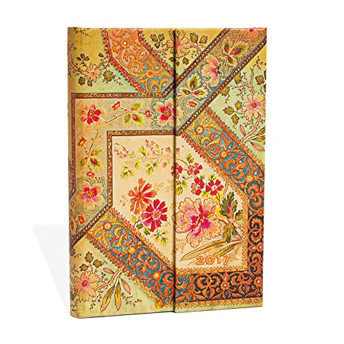 agenda-paperblanks-version-anglaise-filigree-floral-ivory-mini-100x140mm-1-semaine-sur-2-pages-horiz