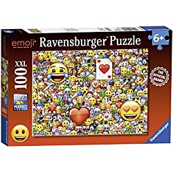 Ravensburger Puzzle 100 Piezas, Emoji (10707)