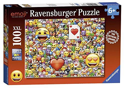 emoji puzzle Ravensburger 10707 Emoji XXL Jigsaw Puzzle - 100 Teile