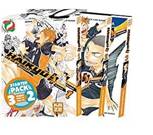 Haikyu!! Les AS du Volley Starter Pack Tomes 1 à 3