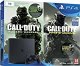 Pack Console PS4 1 To Slim + Call of Duty : Infinite Warfare + Modern Warfare Remastered (code de téléchargement)
