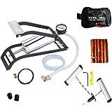 Cartlog Single Barrel Heavy Steel Body Foot Pump for car   Air Pump for Motorcycle Car   High Pressure Foot Pump, Bike Motorb